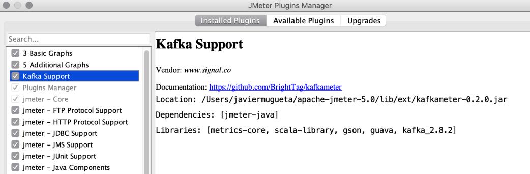 jMeter Test Script for Kafka (tested against Oracle Event